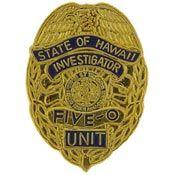 Hawaii 5-0 Logo   Hawaii 5-0 Police Badge Pin