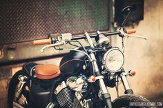 Yamaha Virago, Virago 535, Motorcycle Art, Super Bikes, Custom Bikes, Harley Davidson, Garage, Bobbers, Cafe Racers