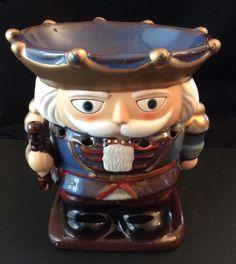 Yankee Candle 2009 Nutcracker Tart Wax Warmer CandleDiscontinued Holiday Decor #Yankeecandle