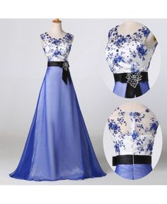 Večerné šaty Tennie modré