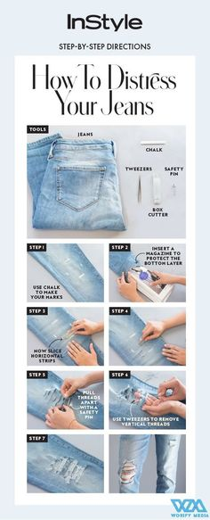 10 Amazing Denim Tricks Every Jeans Lover Must Know! | Blushy Babe