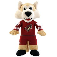 Bring your child's favorite NHL mascot home! This Arizona Coyotes® Howler NHL Mascot Plush Figure is the perfect toy for your young fan. Nba Basket, I Have A Secret, Arizona Coyotes, Hand Puppets, Plush Dolls, Nhl, Playroom, Childhood, Creatures