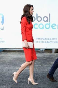 Kate Middleton Photos Photos - Catherine, Duchess of Cambridge attends the official opening of The Global Academy in support of Heads Together at The Global Academy on April 20, 2017 in Hayes, England. The Global Academy is a state school founded and operated by Global, The Media