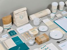 Nerbo branding by The Clock Smiths