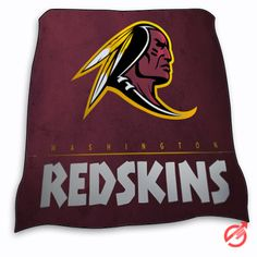 New NFL Football WASHINGTON REDSKINS Blanket