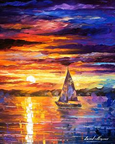 Hey, I found this really awesome Etsy listing at https://www.etsy.com/listing/212906093/little-boat-palette-knife-modern