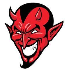 Devil head mascot vector Angry Cartoon, Cartoon Monsters, Dog Vector, Vector Art, Turkey Cartoon, Death Reaper, Sugar Skull Girl, Monster Mask, Satanic Art