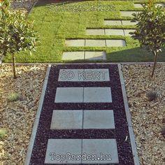 kertépítés ötletek, fa apríték, fenyő apríték a kertben Pathways, Land Scape, Beautiful Gardens, Stepping Stones, Outdoor Decor, Design, Home Decor, Coin, Landscaping