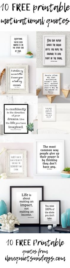 Motivation Quotes QUOTATION – Image : Quotes about Motivation – Description Free printable motivational quotes black and white printables at ilovequietsundays… Sharing is Caring – Hey can you Share this Quote ! Printable Quotes, Printable Wall Art, Do It Yourself Home, Free Prints, Classroom Decor, Office Decor, Office Nook, Motivational Quotes, Wall Quotes
