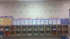 Inside Class Writing Posting Area!