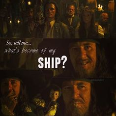 """""""So tell me...what's become of my ship?"""" The best Pirates of the Caribbean movie ending ever!"""