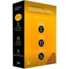 Box de Livros - O Essencial da Filosofia (3 Volumes)