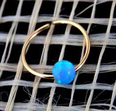 Opal cartilage earring helix earring tragus by sofisjewelryshop