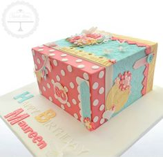 Celebrate Her – Sweet Love Cake Couture Gorgeous Cakes, Pretty Cakes, Amazing Cakes, Take The Cake, Love Cake, Cake Pops, Christening Cake Boy, Adult Birthday Cakes, 60th Birthday