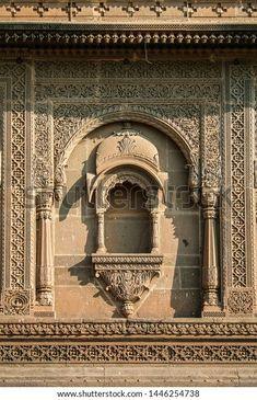 Wood Carving Designs, Wood Carving Art, Styrofoam Art, Ganpati Decoration At Home, Ganesh Wallpaper, Buddha Sculpture, Buddha Painting, Indian Architecture, Jaisalmer
