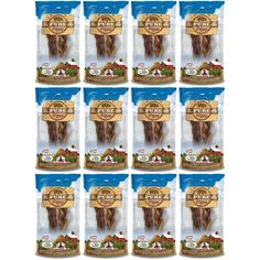 """Loving Pets Pure Piggy 6-7"""" Braided Pig Pizzle 24pk (12 x 2pk) - Please be sure to check out this awesome product. (This is an affiliate link and I receive a commission for the sales)"""