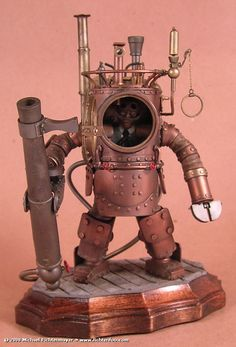 Steampunk Miniatures***Research for possible future project.