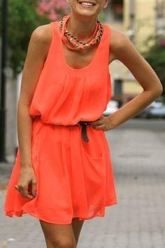 Sleeveless Solid Color Sundress http://www.zaful.com/sleeveless-solid-color-sundress-p_84719.html?lkid=8338