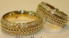 modelos de alianças para casamento - Alianças de Casamento e Noivado em Ouro 18klts Reisman
