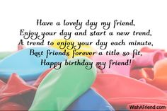 Friend Birthday Quotes Happy Wishes Messages Images Pictures