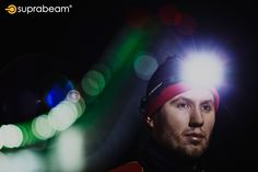 Skiing with the Suprabeam rechargeable headlamp for optimal lighting. Outdoor Pictures, Skiing, Lighting, Ski, Lightning, Lights