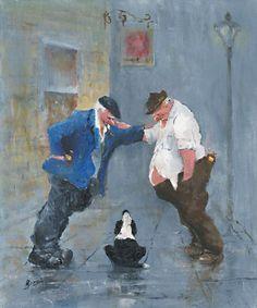 Image of 'Three Amigos' Giclee Canvas