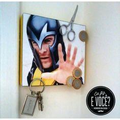 Esse quadrinho magnético do magneto é muito foda né? Foi obra de um leitor do blog.