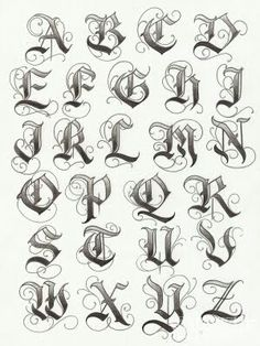 GothicGothic lettering, could be used for a rock/metal band.