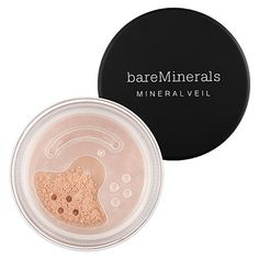 Bare Escentuals Mineral Veil: Shop Powder   Sephora, $20. I Won't live without this!!! I helps with extra oil, smaller pours, and a professional finish on your makeup. No joke!!