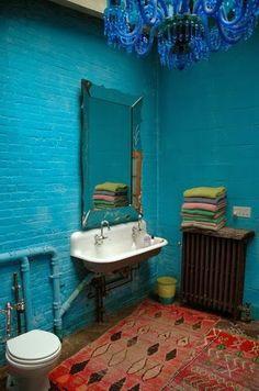 Inspiração décor: banheiros que roubam a cena!!