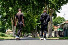 Skating in the hilly suburbs of Kensington in Johannesburg Skate, Harem Pants, Street Style, Urban, T Shirt, Photography, Fashion, Supreme T Shirt, Moda