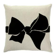 Sonia Rykiel Maison - Malice Cushion - Noir - 40x40cm