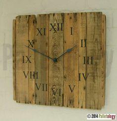 Vintage Potato Chitting Tray Clock
