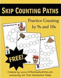 Skip Counting Worksheets (W5)