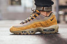 """Nike Reissues Air Max 95 Premium """"Wheat"""" for Autumn 2016 - EU Kicks: Sneaker…"""