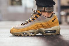 "Nike Reissues Air Max 95 Premium ""Wheat"" for Autumn 2016 - EU Kicks: Sneaker…"