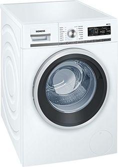 Siemens iQ700 WM14W5A1 iSensoric Premium-Waschmaschine / A+++ / 1400 UpM / 8 kg / Wei� / Nachlegefunktion / Antiflecken-System / Super15