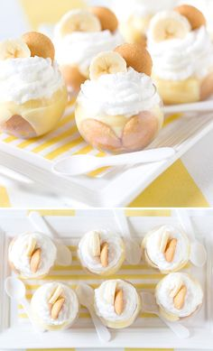 Mini Banana Pudding Parfaits is part of Finger dessert Banana Pudding - Try this delicious Southern Banana Pudding Parfait dessert recipe today! Southern Banana Pudding, Homemade Banana Pudding, Best Banana Pudding, Banana Pudding Recipes, Parfait Desserts, Parfait Recipes, Mini Dessert Recipes, Dessert Cups, Mini Desserts