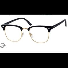 Browline glasses Brand new, I bought them online and I don't like the way they look on me.! There is no prescription lens but the can be added! Or simply worn without ! Accessories Glasses