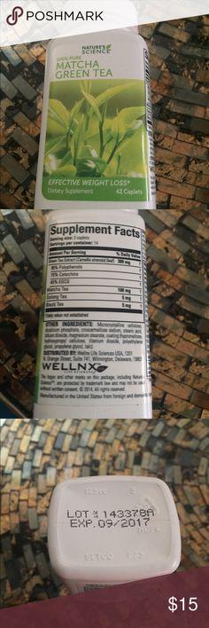 Match green tea pills Matcha green tea pills sealed Other
