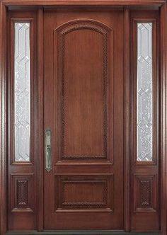 Bathroom door, regular door