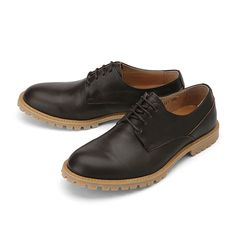 [series] MODERN LEATHER DERBY SHOES