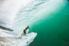 Takes more than some foam to deter the prince of Vero Beach, Ollie Kurtz.