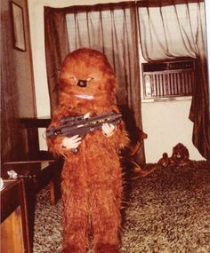 Chewbacca as a small child. #starwars