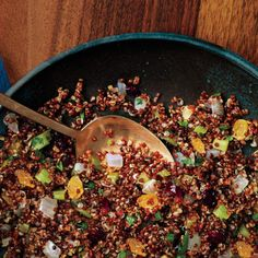 Quinoa Stuffing A healthy, flavor-packed twist on classic stuffing.
