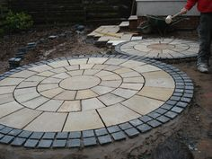 stone circle paving - Google Search
