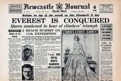1953 newspaper headlines | NEWSPAPER HEADLINES etc : Old Newspaper articles from times past in ...