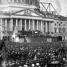 4th March 1861 : Abraham Lincoln's Inauguration.  Retronaut