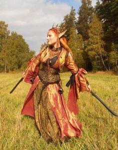 Ember in the field by fairyfrog on deviantART