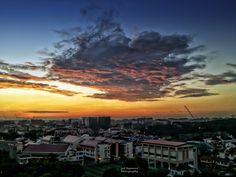 Burning Clouds @ Serangoon Estate by GohRaymond Photography on 500px